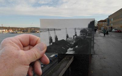 Utsikt från Fjällgatan ovanför Fotografiska