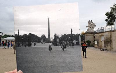 En mamma i Tuilerierna, Paris 1952