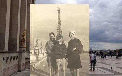 Framför Eiffeltornet 1964 och 1967 del 2