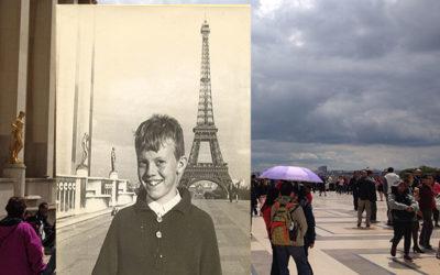 Framför Eiffeltornet 1964 och 1967 del 1