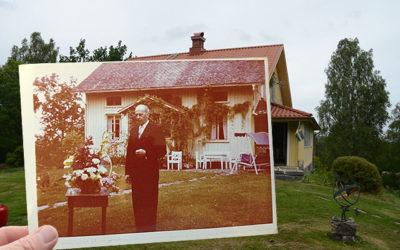 Morfar fyller 70 år i Växvik