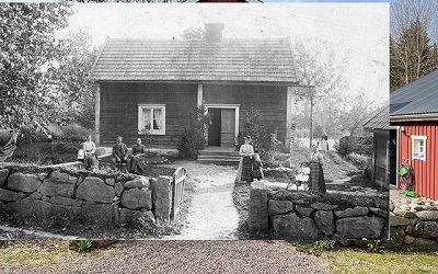 Skräddaren och hans familj i Rothemmet utanför Mjölby